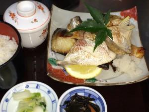 """""""焼き魚の盛合せ定食 Yakizakana-teishoku""""の拡大写真"""